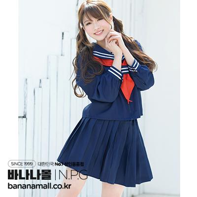 [일본 직수입] 아이자와 미나미의 마음에 든 코스츔 스쿨 세라복(相沢みなみのお気に入りコスチューム スクールセーラー) - 니포리기프트(CL-6384) (NPR)