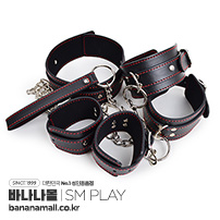 [SM 플레이] 섹시 본디지 수갑 키트(Sexy Handcuffs Kit) - 지우아이(JAI-0019) (JAI)