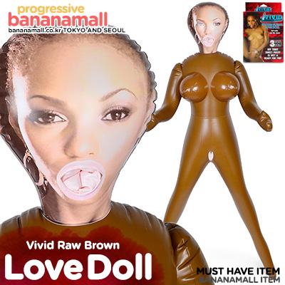 [88데이] [미국 직수입] 비비드 로우 브라운 슈가 러브 돌(Vivid Raw Brown Sugar Love Doll) - 이그저틱(SE-7530-20-3) (EJT)