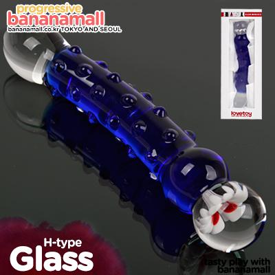 [88데이] [유리 딜도] 글라스 로맨스(Lovetoy Glass Romance H-type) - 러브토이(GS08B) (LVT)