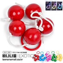 [미국 직수입] 애널 비즈(Anal Beads) - 이그저틱(SE-1200-00-2) (EJT)