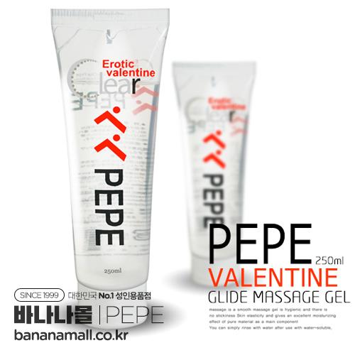 [마사지 젤] 페페 발렌타인 글라이드 마사지 젤 250ml(PEPE Valentine Glide Massage Gel 250ml)