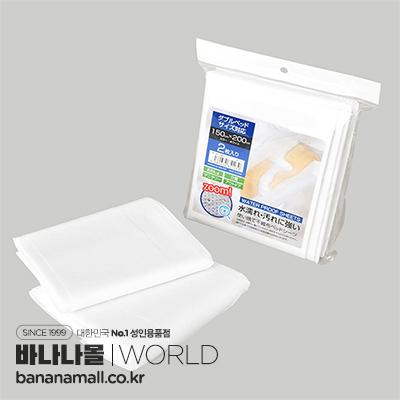[일본 직수입] 일회용 부직포 방수 침대 시트(使い捨て不織布防水ベッドシーツ)