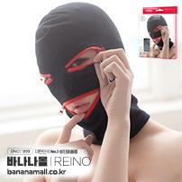 [일본 직수입] 예의 데님/3 구멍 지퍼 마스크(例のデニム/みつ穴ジッパーマスク) - 레이노(REIO-004)(NPR)