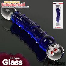 [섹시할로윈] [유리 딜도] 글라스 로맨스(Lovetoy Glass Romance H-type) - 러브토이(GS08B) (LVT)