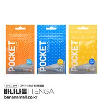[일본 직수입] 포켓 텐가 헥사 브릭・크리스탈 미스트・스파크 비즈 POT-004 (POCKET TENGA ヘクサブリック・クリスタルミスト・スパークビーズ) - 텐가 (TGA)